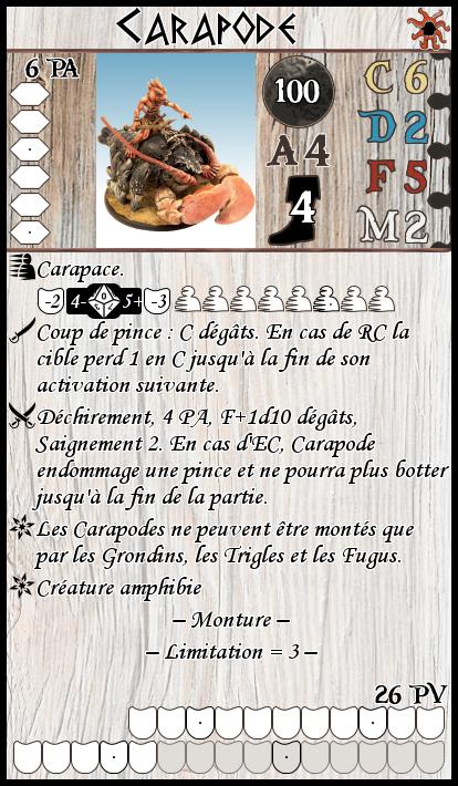 Carapode