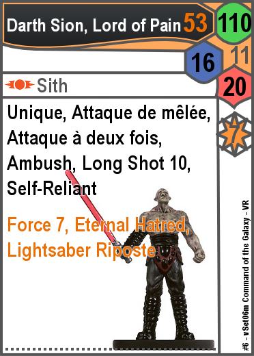 Star Wars Minis : Sith | DYNATMOS